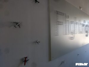 fi3b3r Flightright Büro Potsdam Stringart